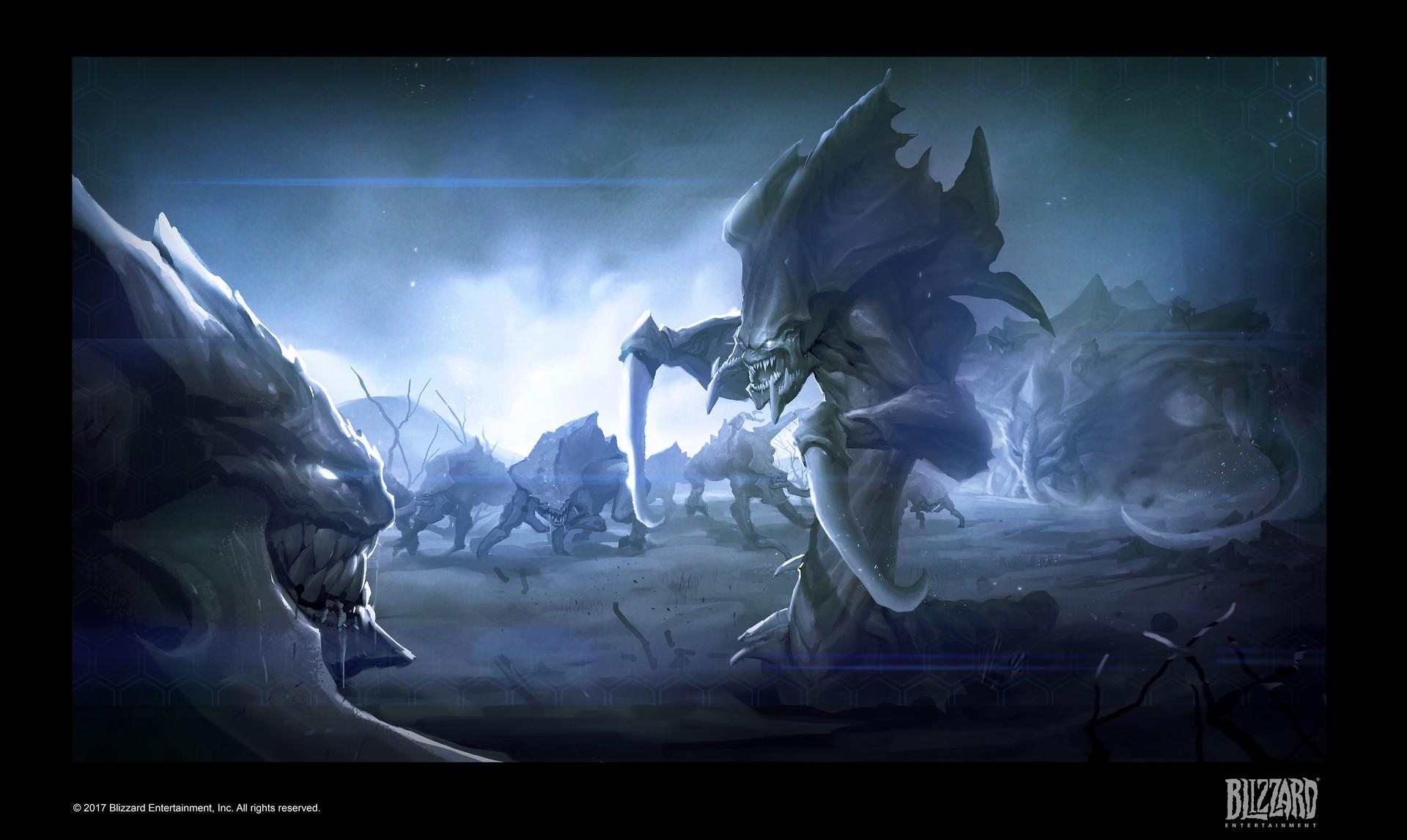 ArtStation - Starcraft Remastered _ Cinematic , Yewon Park