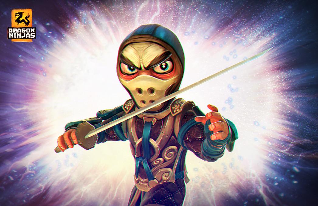 Damian grx dn apaisada promos new unit ninjas