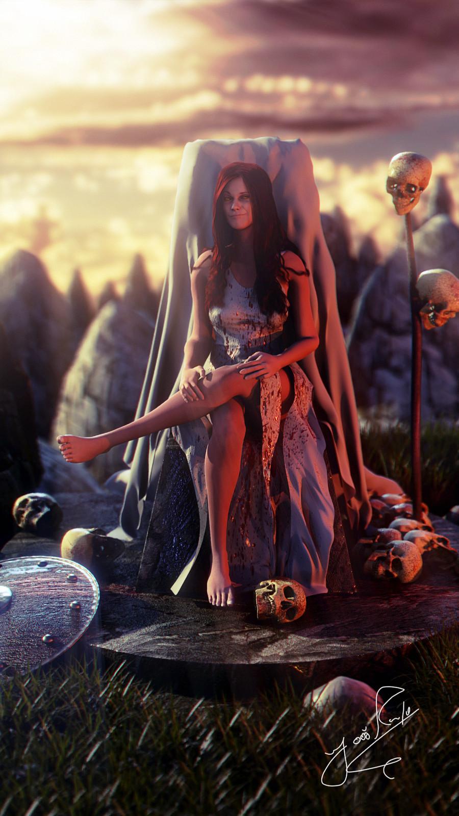 Katherine - The vampire queen.