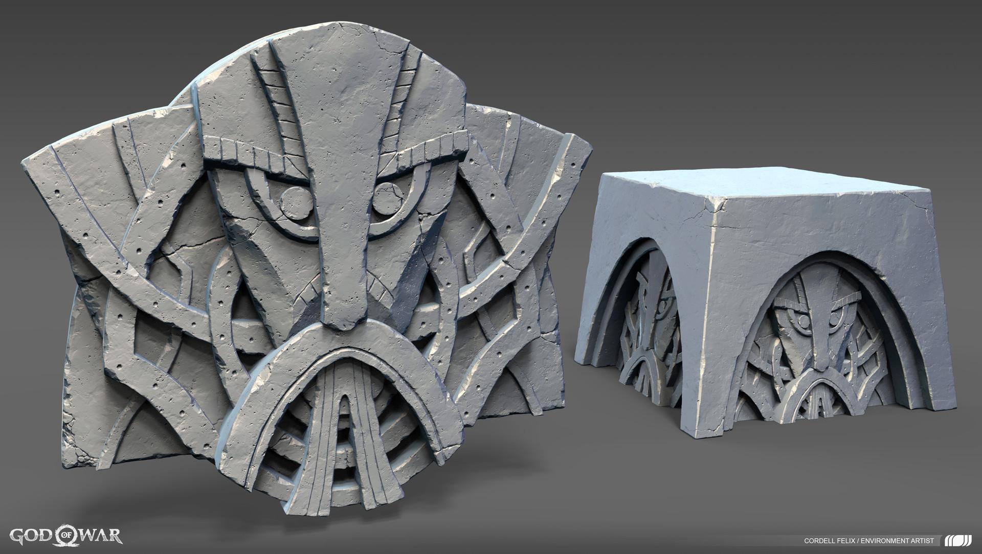 Cordell felix oogabooga stone withbase 01