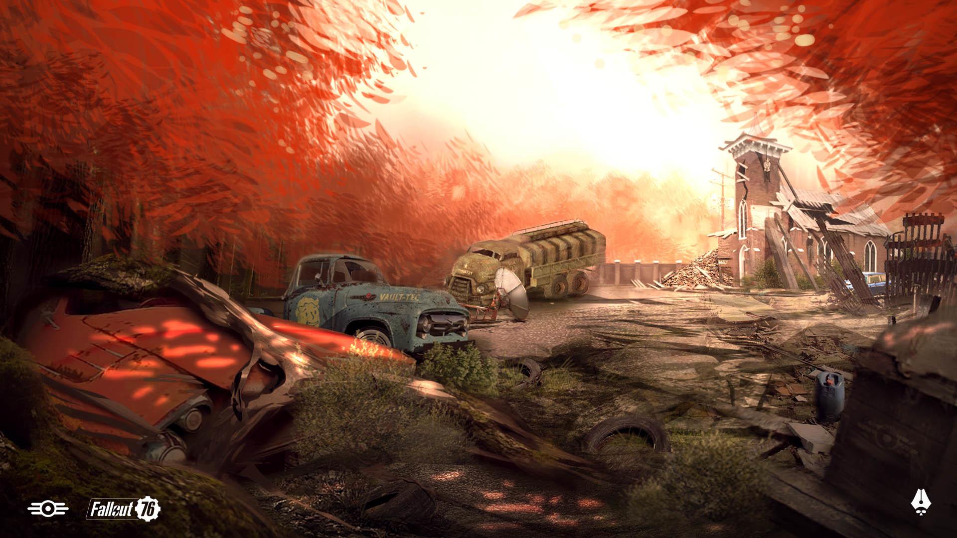 ArtStation - Fallout 76 fan art, Lorenzo Berzosa