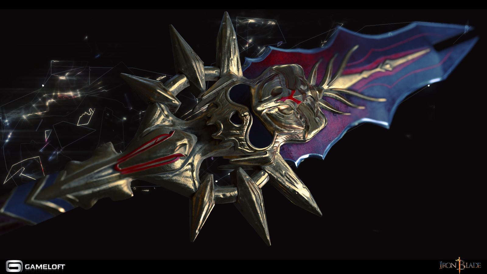 Blackguard Spear