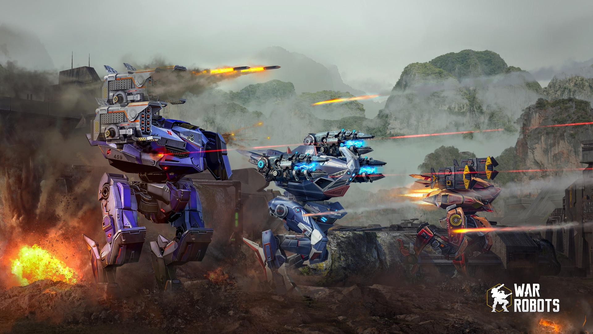 Andrew Luzanov War Robots