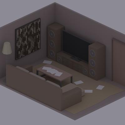 Jan golicnik living room