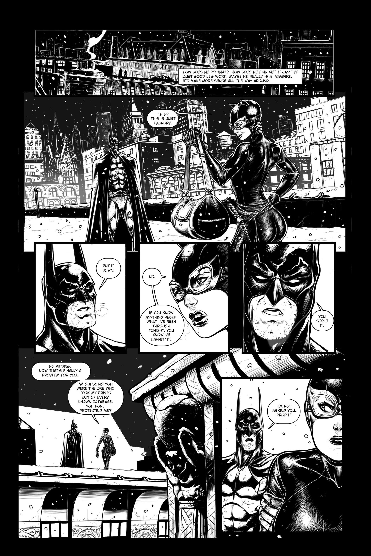 Kenan halilovic dc sample page batman 1
