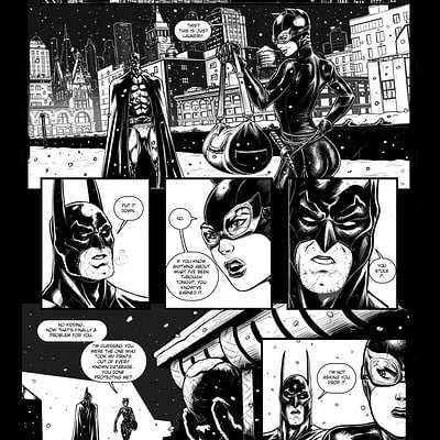 Kenan halilovic dc sample page batman 1