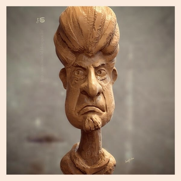 #quicksculpt #study #doodle   One of my quick sculpt. Played with brushes.  Wish to share.