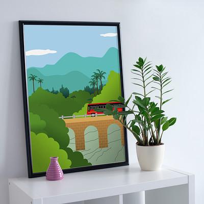 Rajesh r sawant free premium photo frame mockup psd