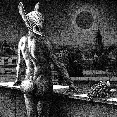Igor myszkiewicz panorama tusz 42x42 cm
