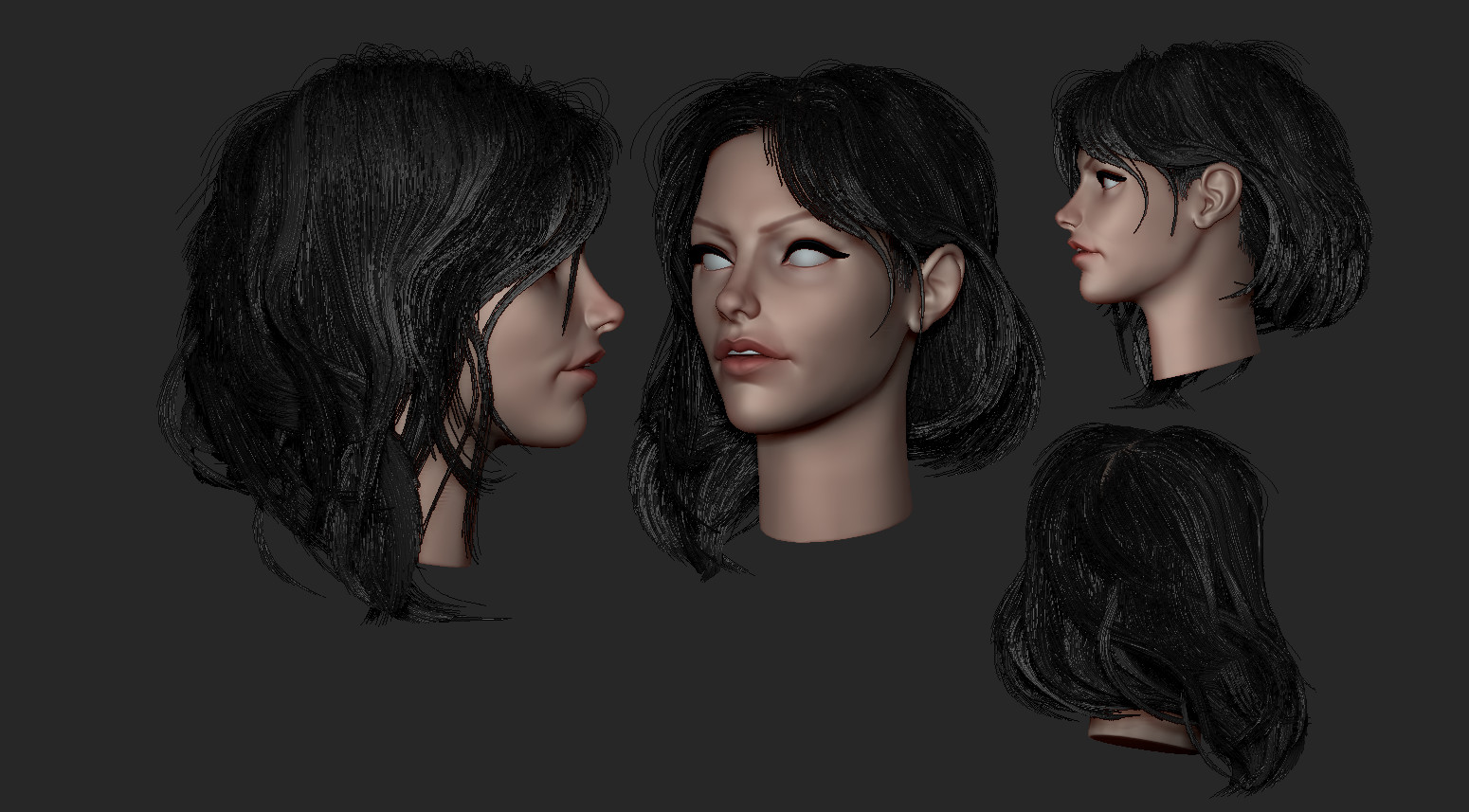 ArtStation - Free Groom Brushes for Zbrush 2018 and 4r8 , Rodesqa ______