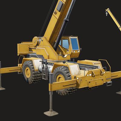 Oscar rickett crane