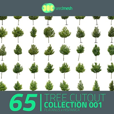 Martin jario seedmesh cutout trees first collection