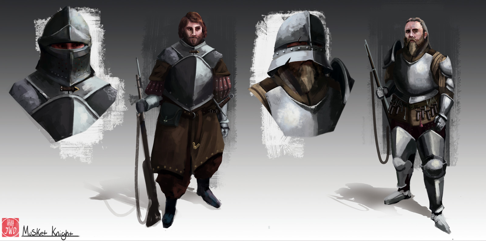 Musket Knight designs