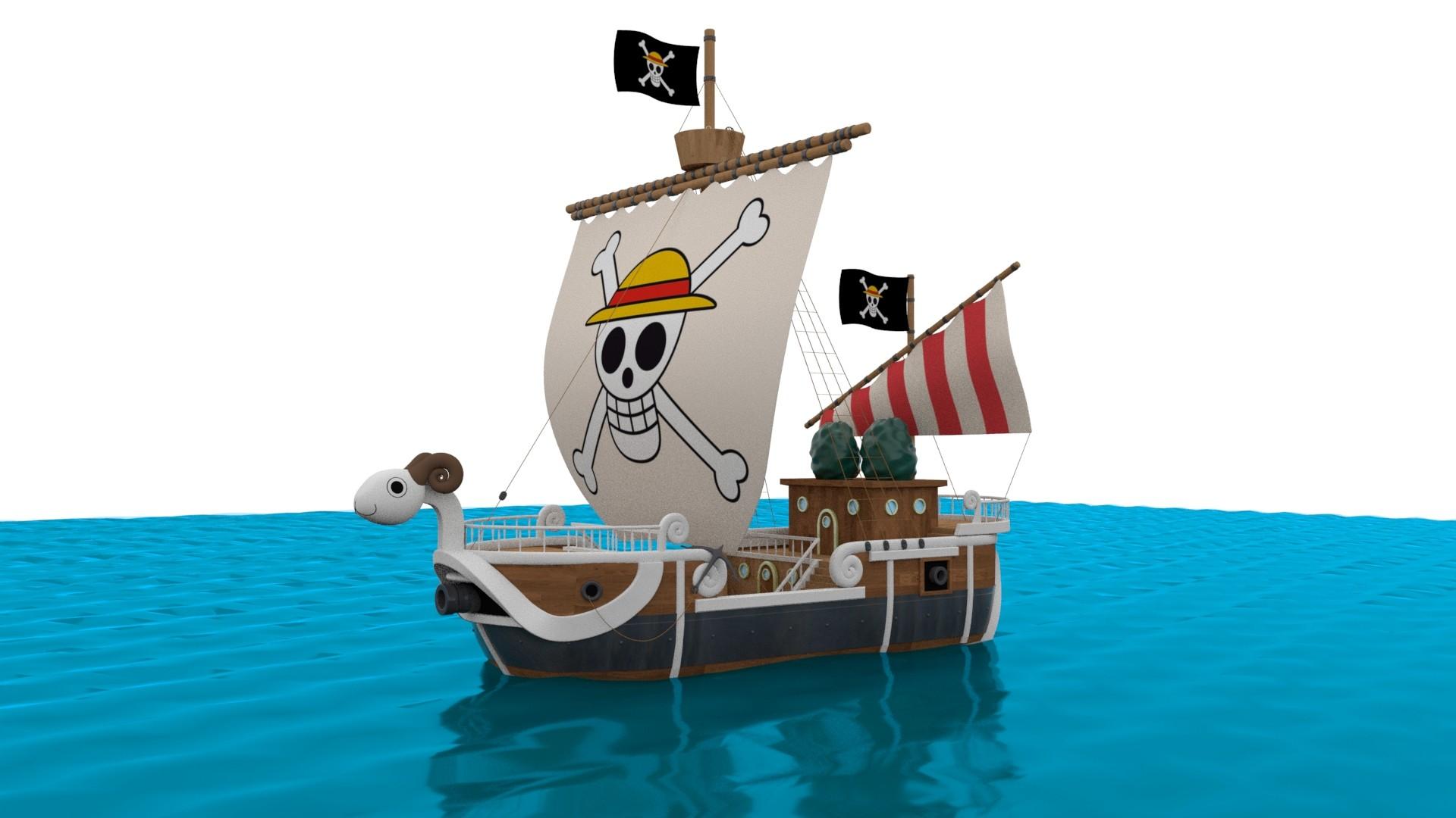 Firdaus Amir - One Piece Going Merry