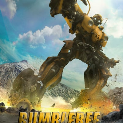 Film bionicx poster the spin off official bumblebee fan made by toa316xdnui official dbthyvp