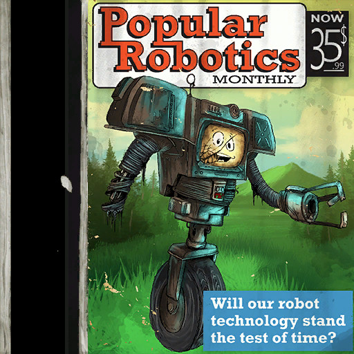 Popular Robotics asset texture