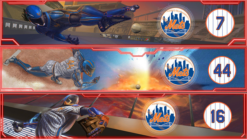 """Banner Ads: """"The BallUnleashed"""" New York Mets, 2012"""