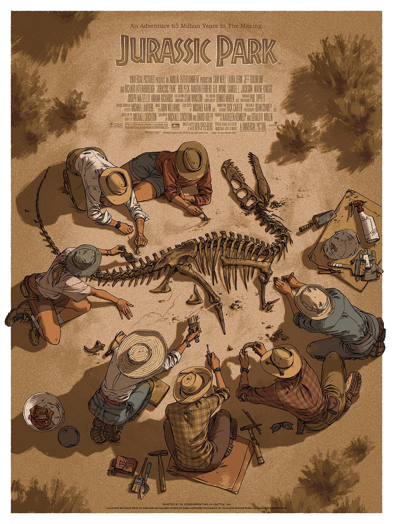 Artstation Mondo Jurassic Park Claire Hummel