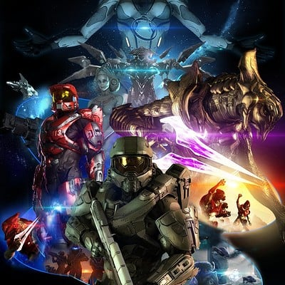 Film bionicx halo 6 poster official by toa316xdnui official dc3fvm2