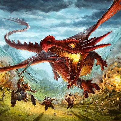 Tomek larek dragon attack tomek larek