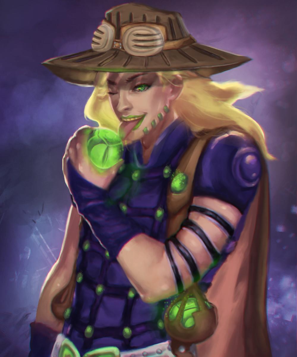 Gyro Zeppeli Hat