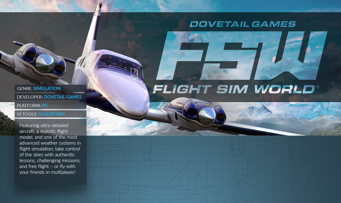 Mathieu Bijuk - Flight Sim World: UI Design & Art