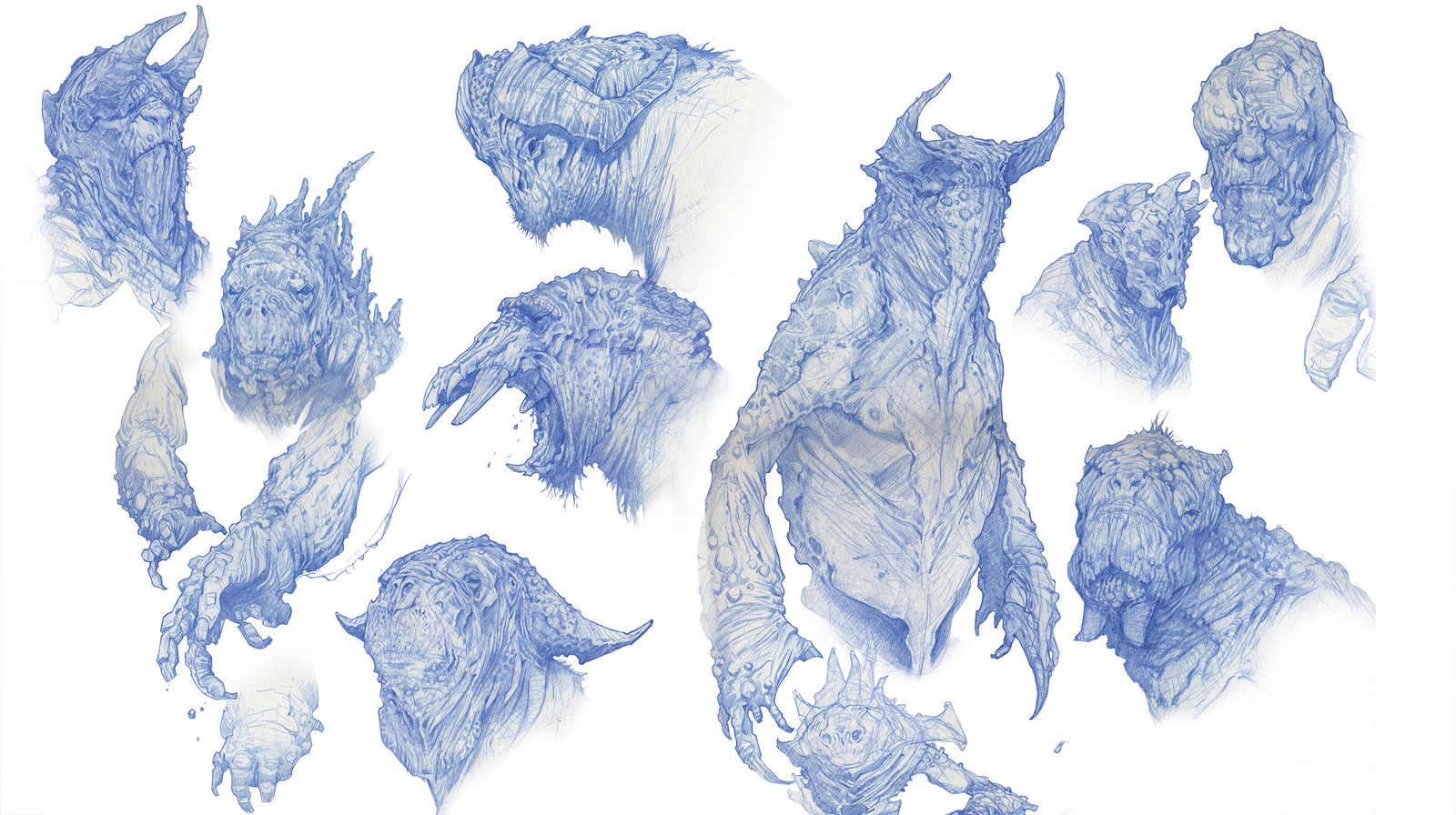Early Troll sketches
