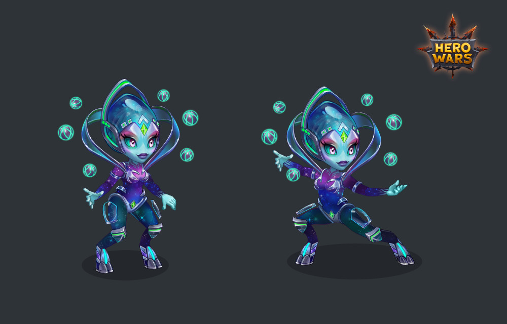 ArtStation - Nebula, Daria Unicorn Princess
