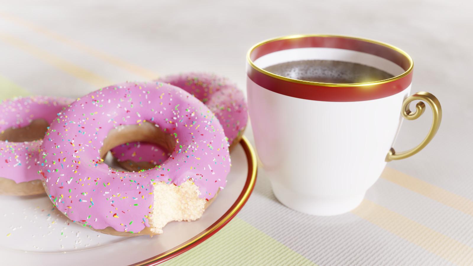 Blender doughnuts
