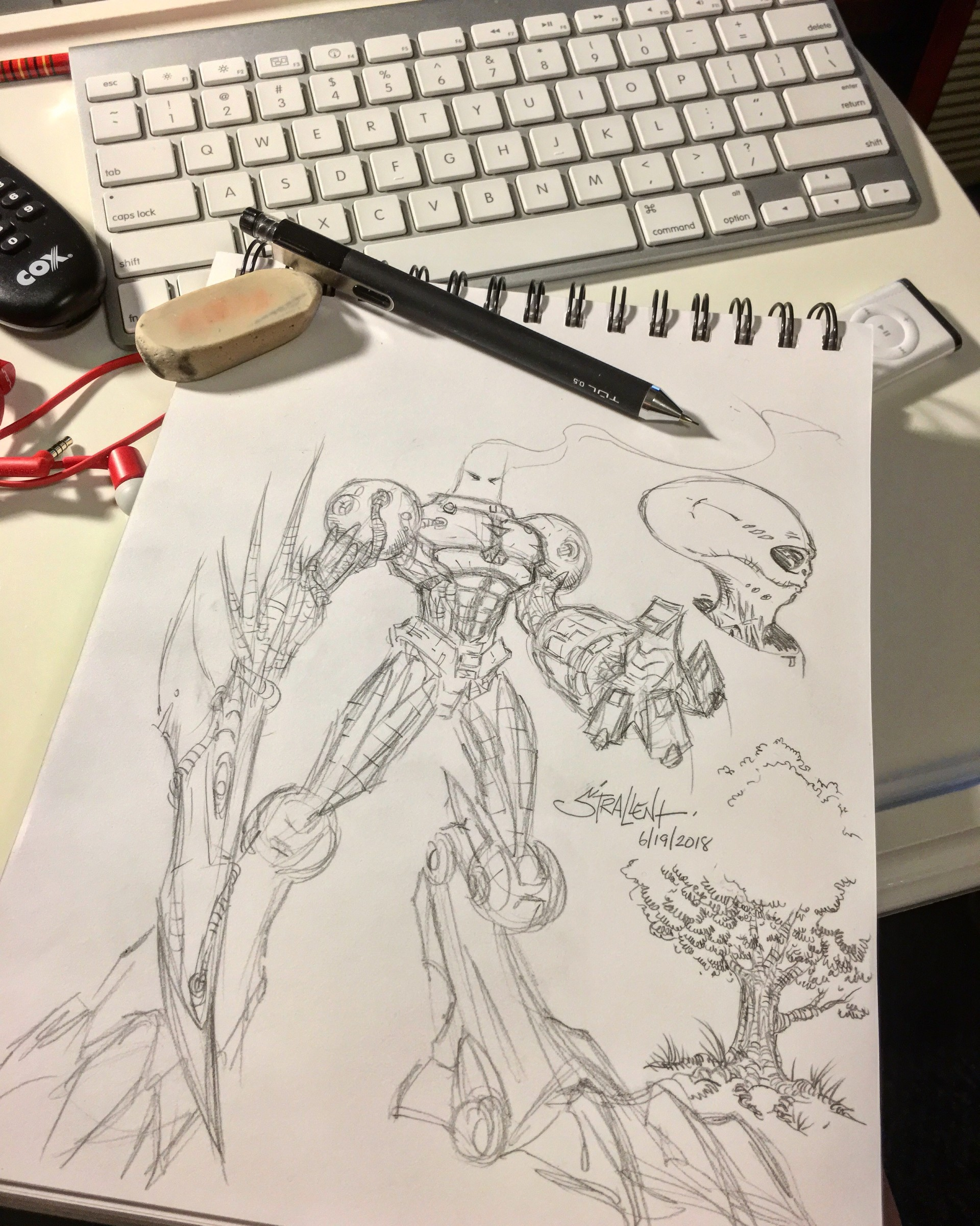 ArtStation - Quick Sketch, Frank Strallent