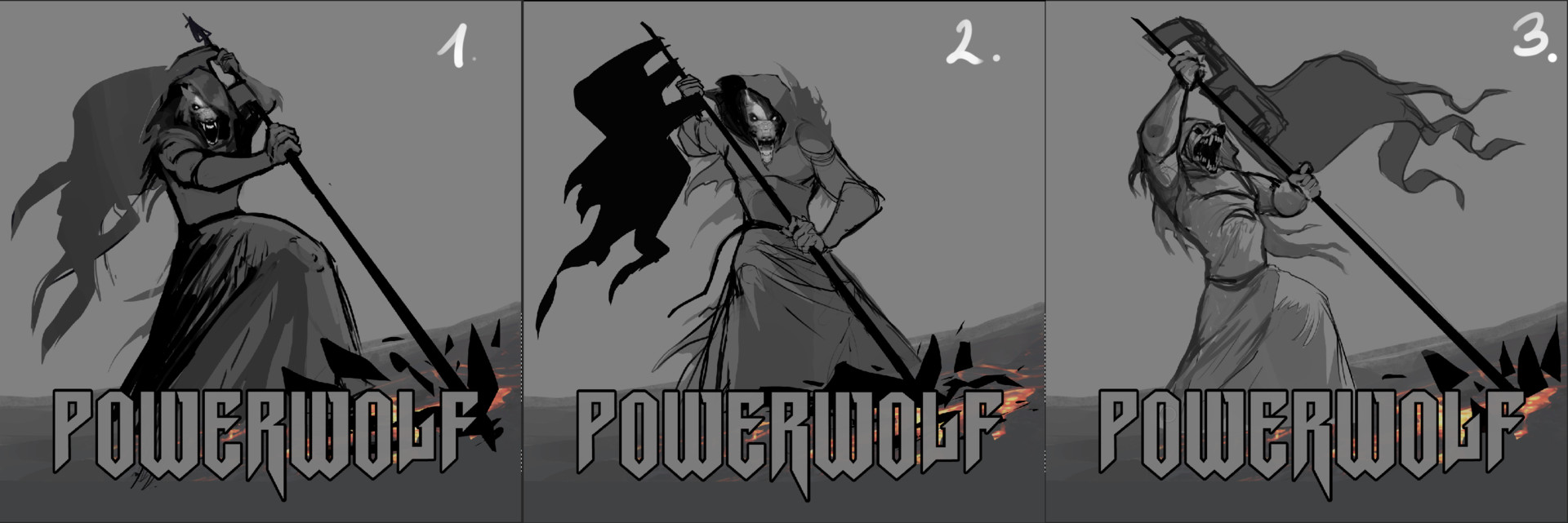 Zsofia Dankova Powerwolf Fire Amp Forgive