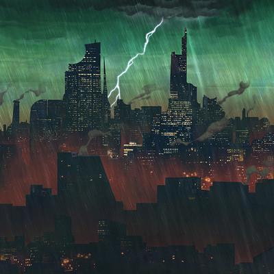 Dimitri chappuis color sketch v2 rain