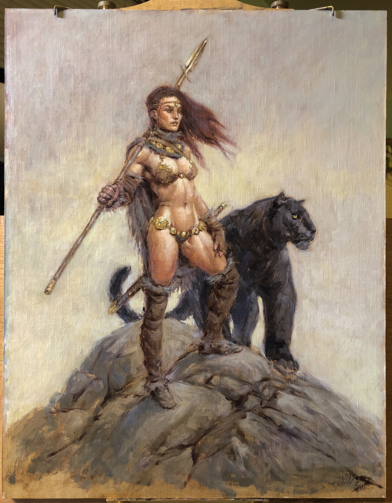 Frazetta-esque Adventures! (w/Process)