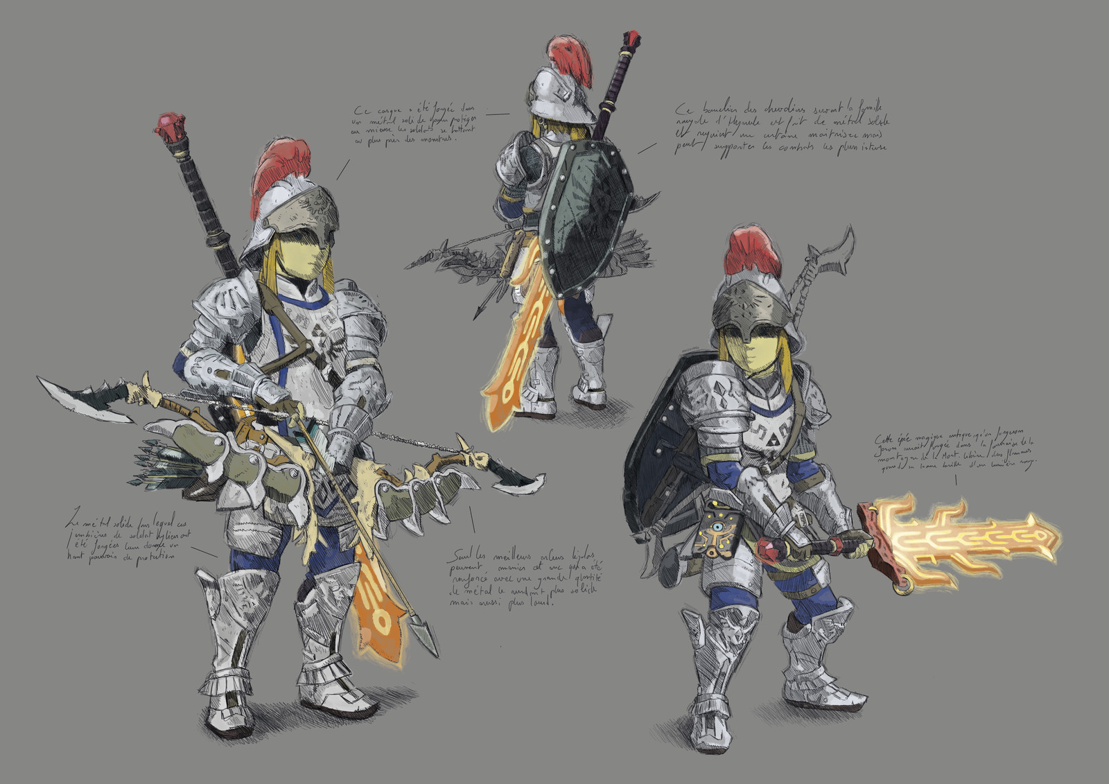 Zelda Botw - study