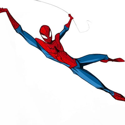 Christopher ables spiderman doodle