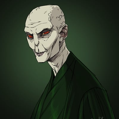 Christopher ables voldemort sketch