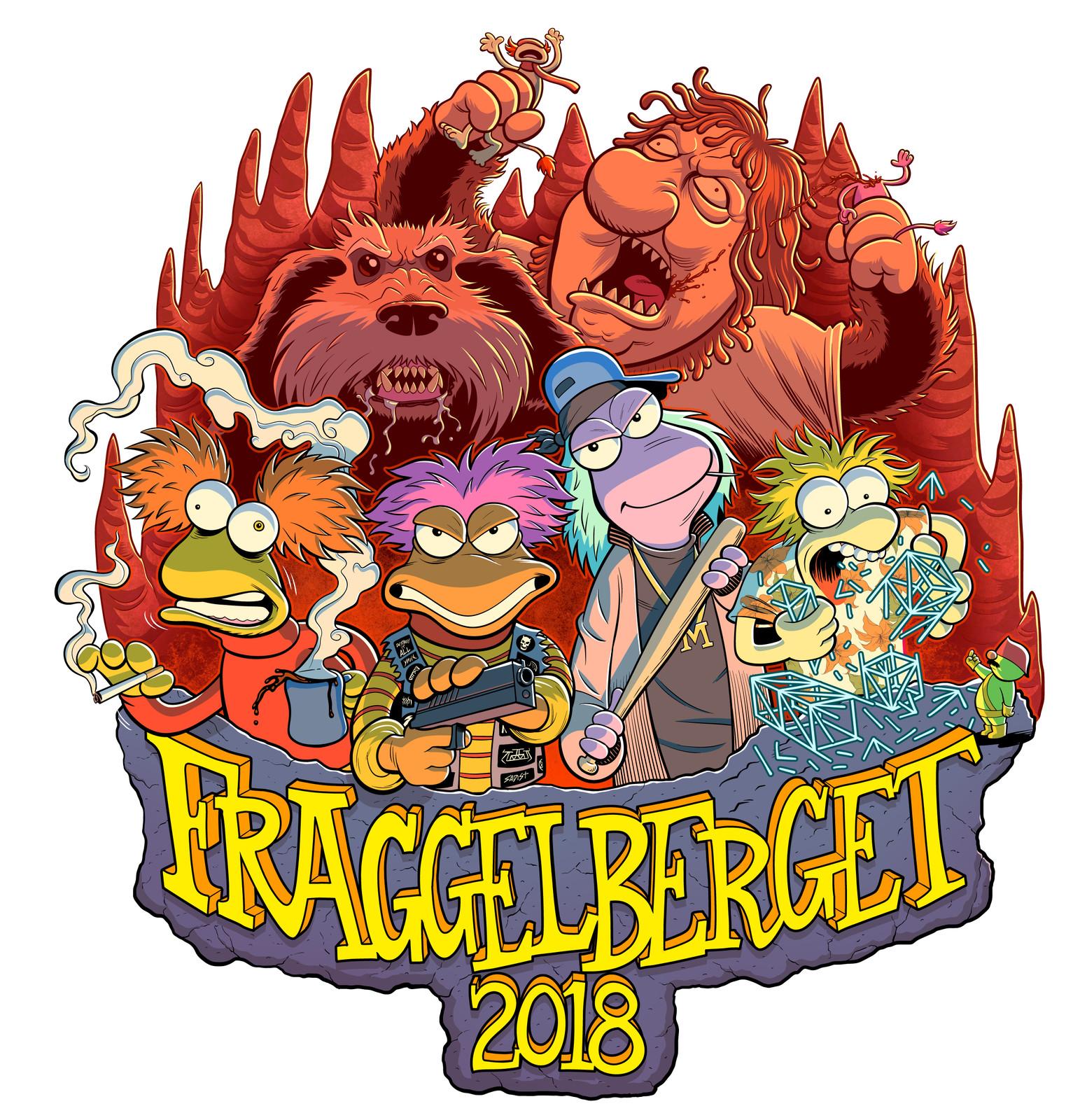 Fraggelberget Russ Logo