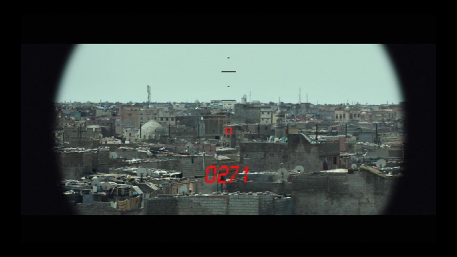 American Sniper: Sadr City - Scope POV Photoshop and Nuke