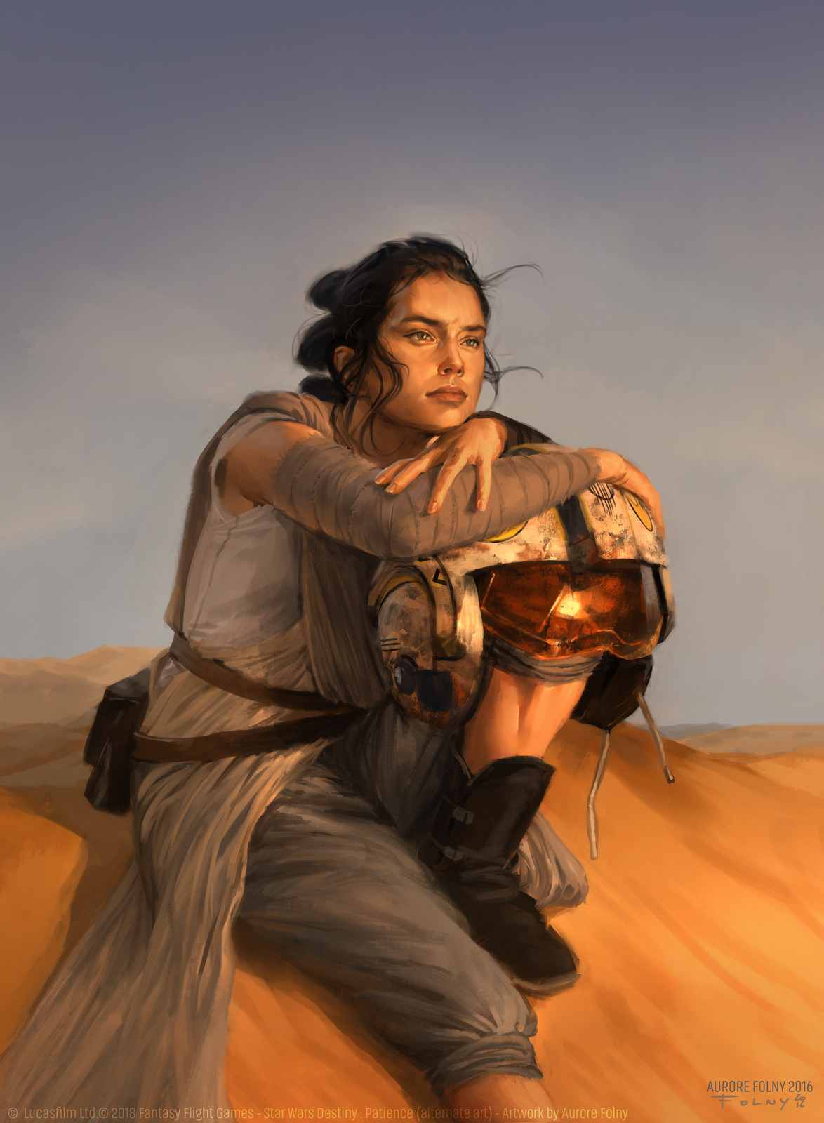 Star Wars Destiny : Patience alternate art