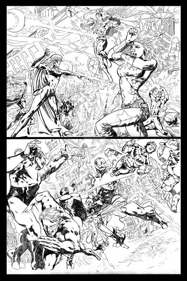 Teen Titans - Page test