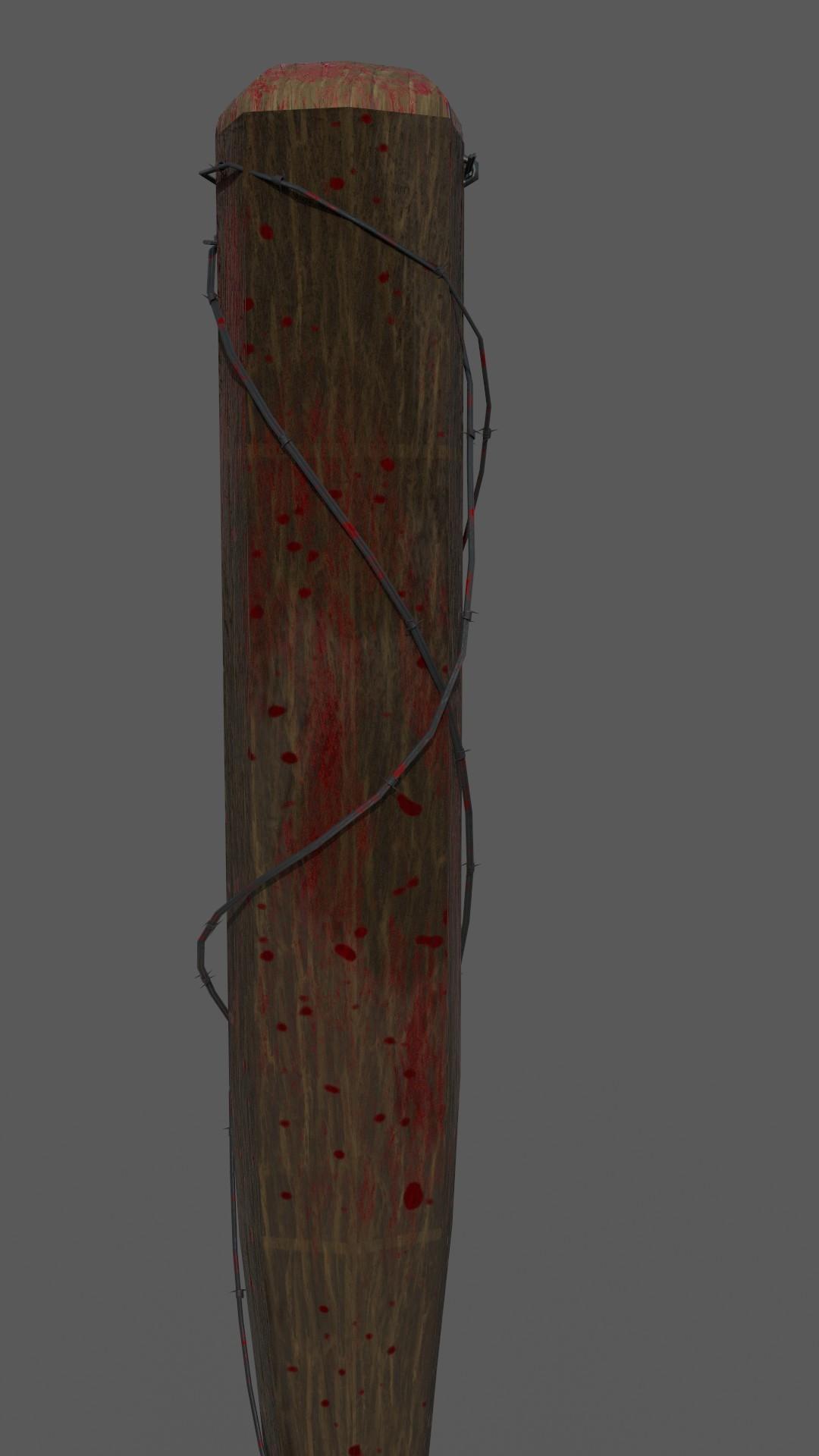Dominic Fornicola - Barbed Wire Baseball Bat
