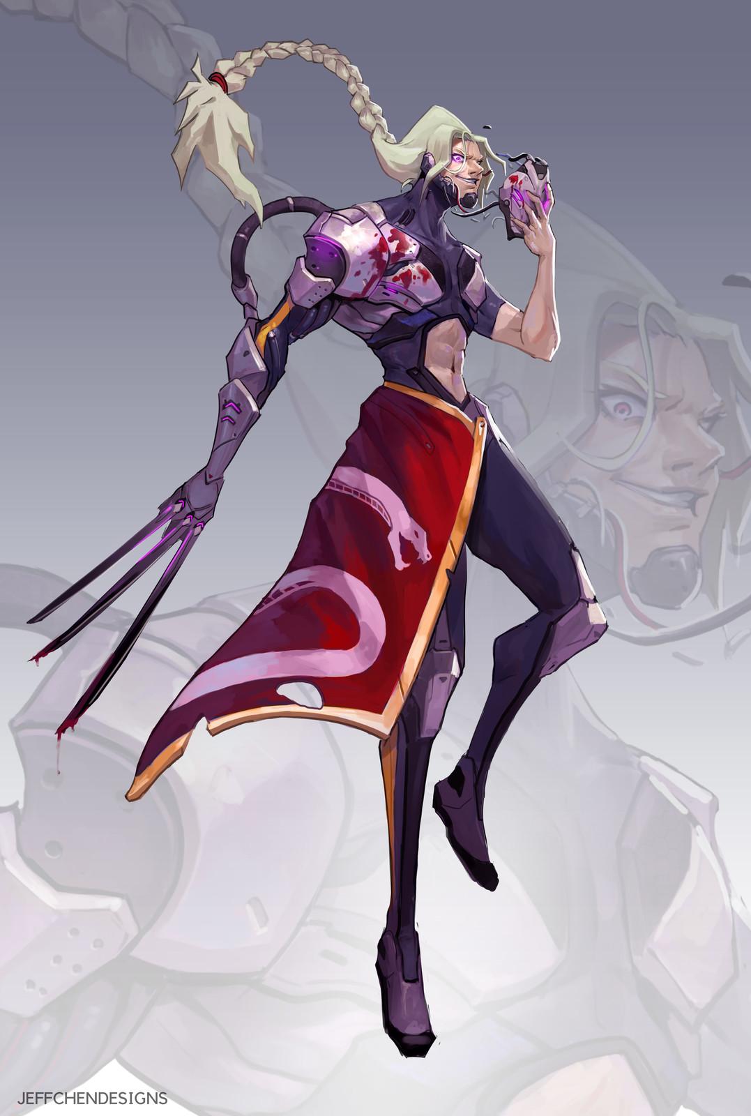 Cyborg Vega