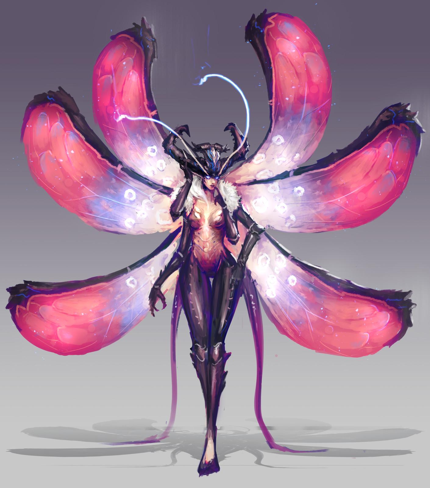 Succubus Creature Concept
