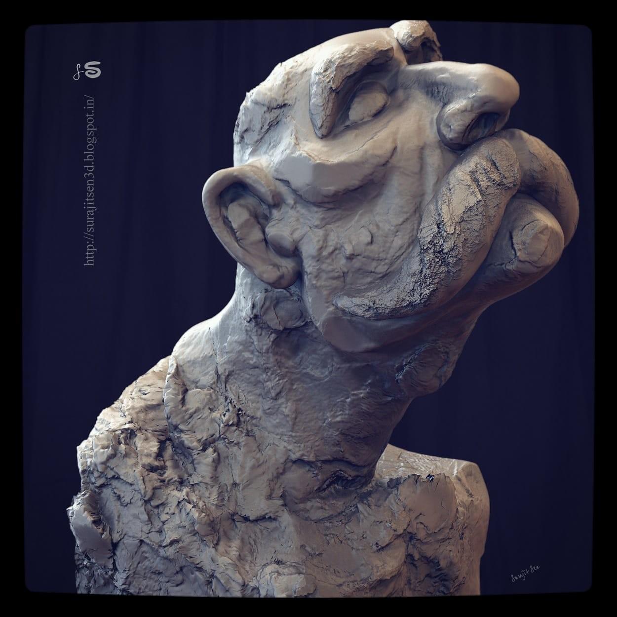 Surajit sen feelings sculpt 24062018 ins