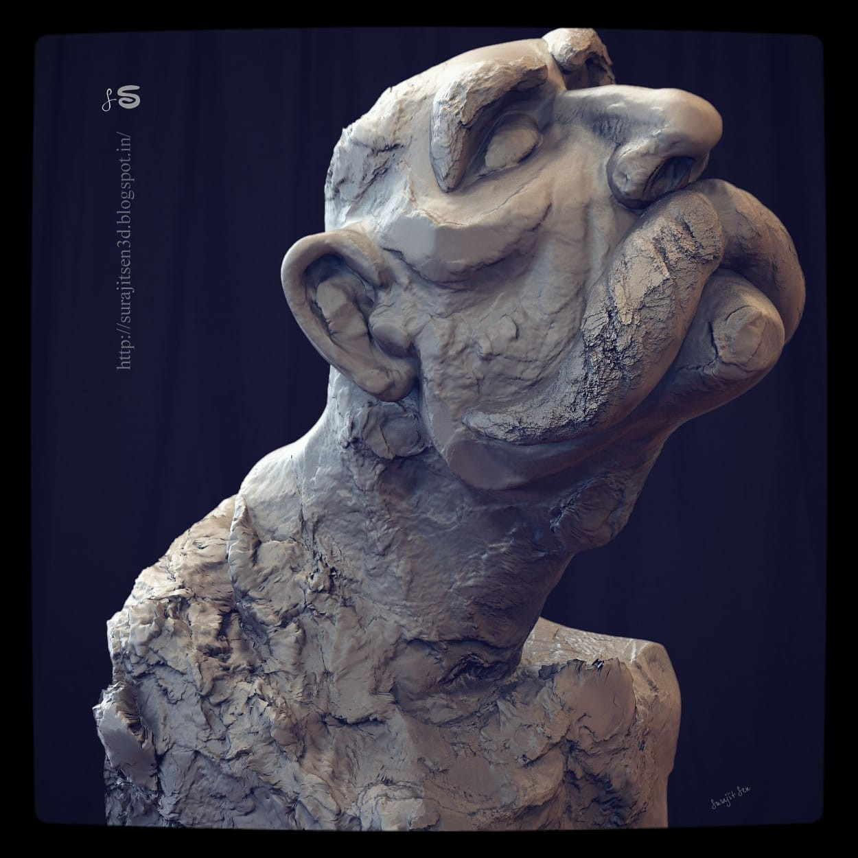 My weekend sculpt.