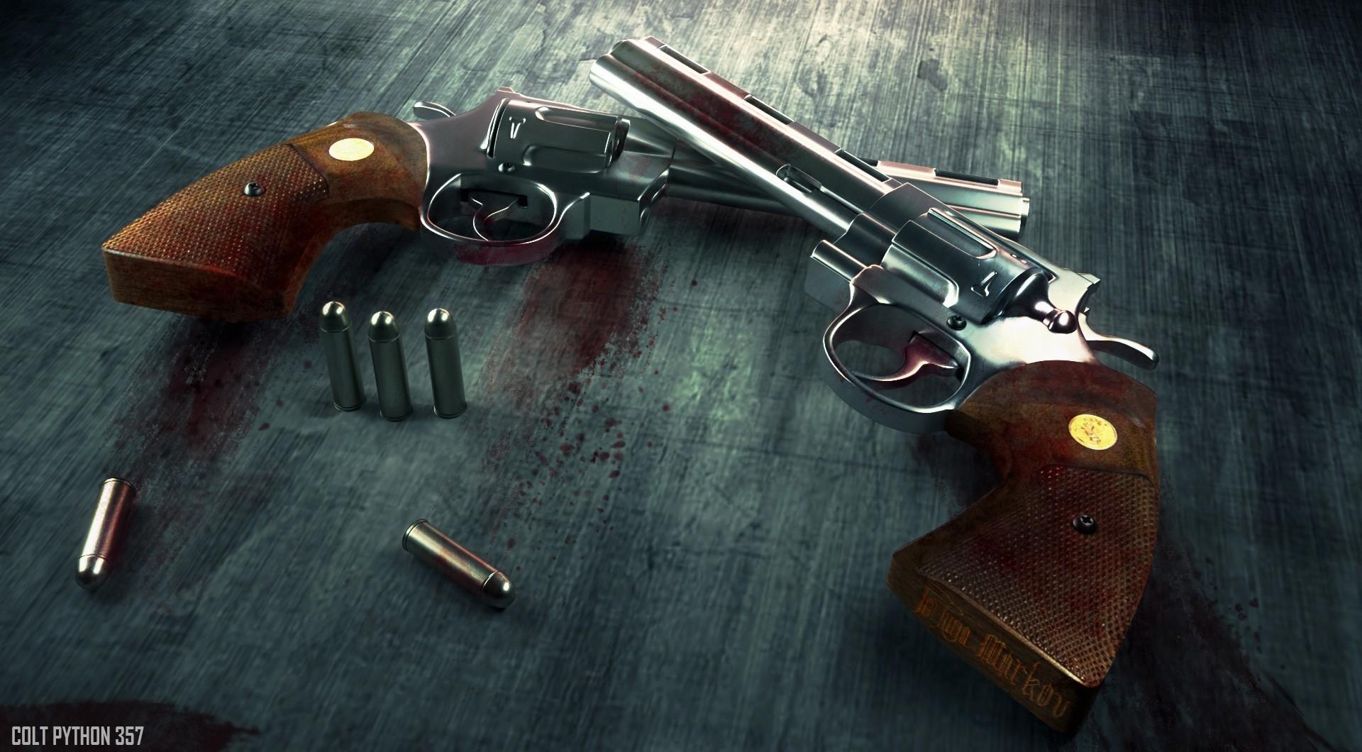ArtStation - Colt Python 357, Tortuga Markov