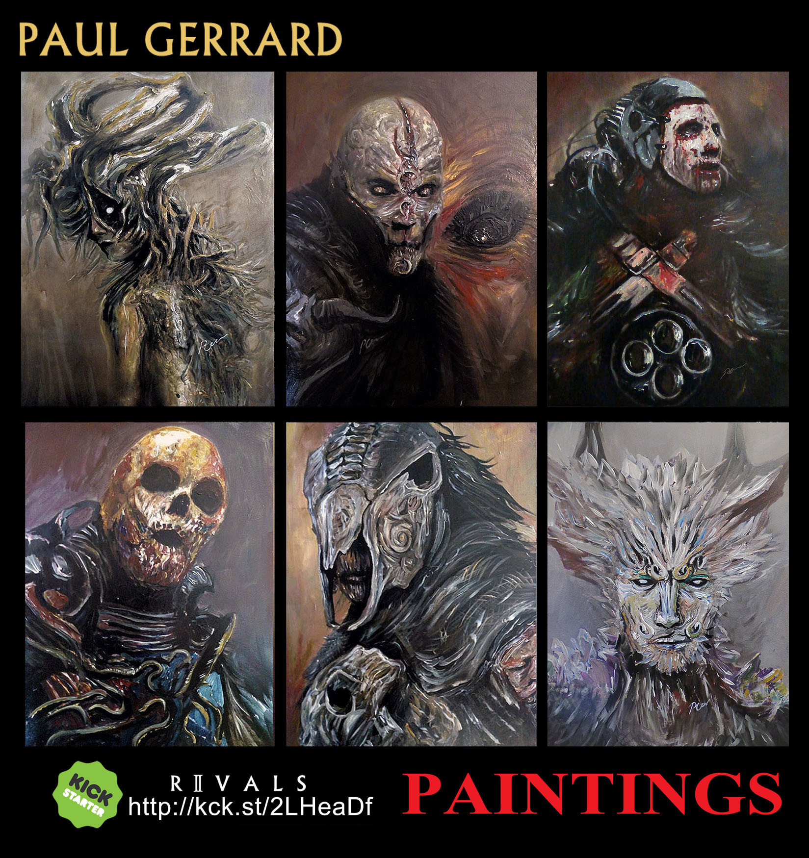 Paul gerrard paint