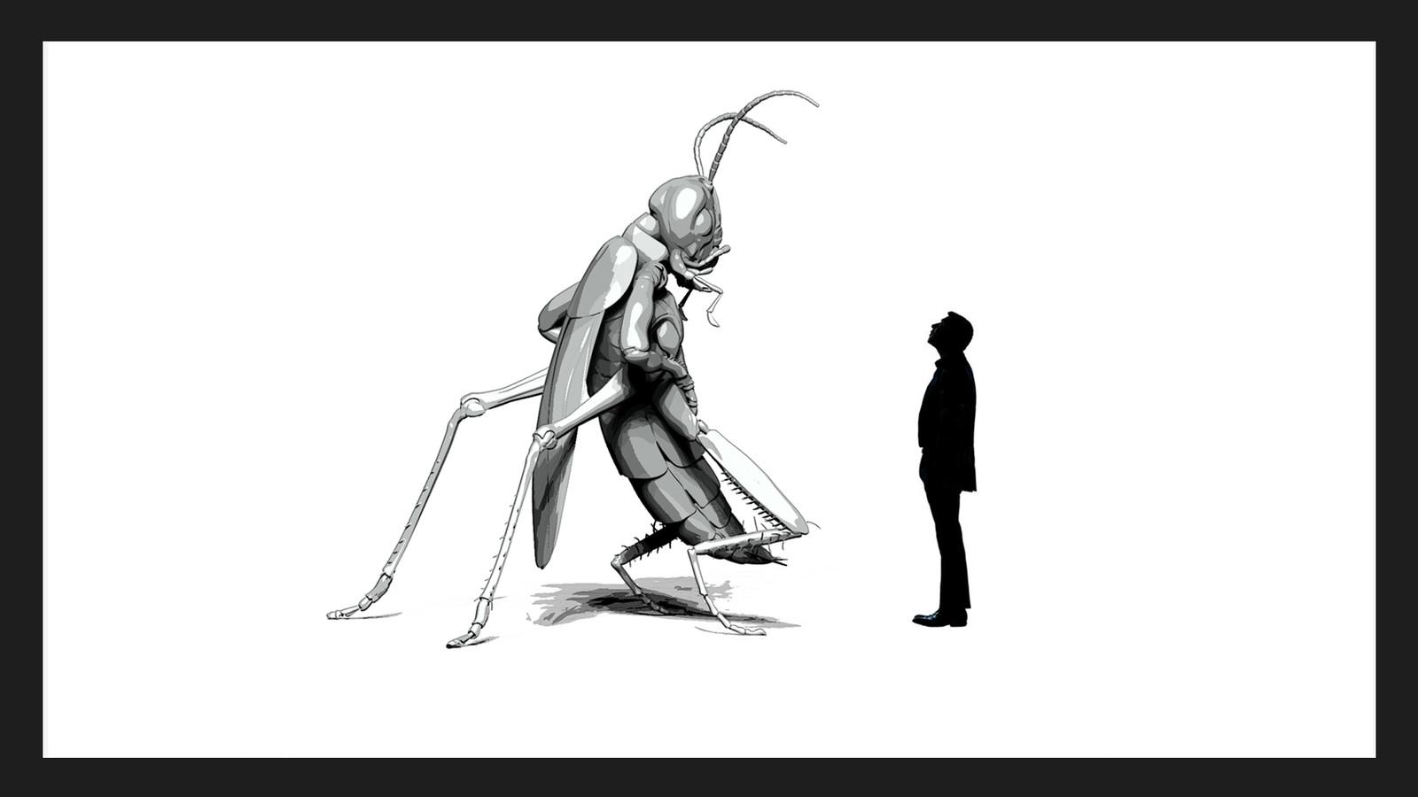 Cockroach Alien