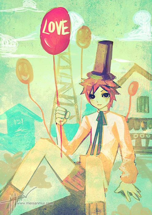 Sasi tanadeerojkul balloon by meisan