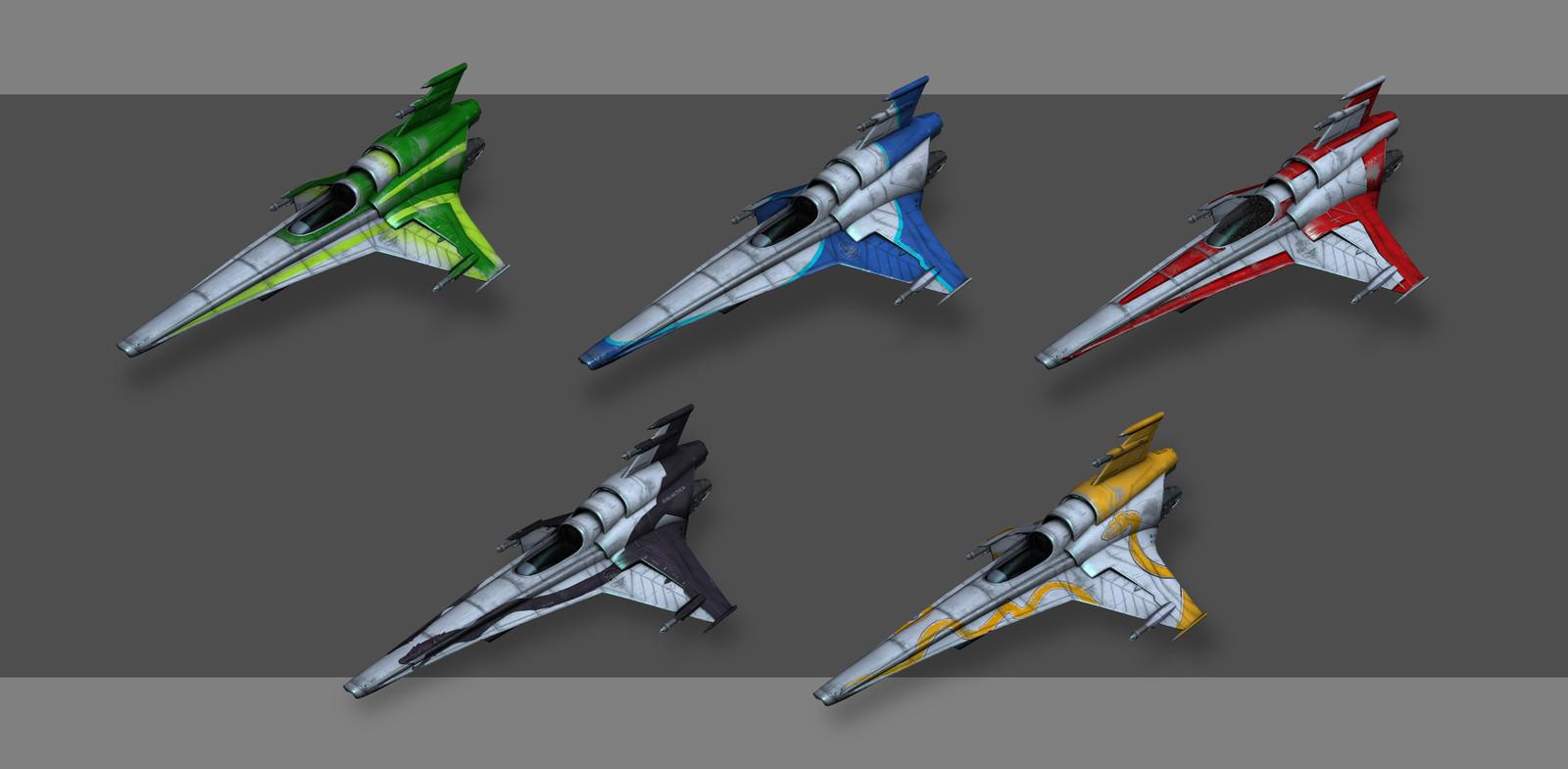 Viper MK 7 Variations